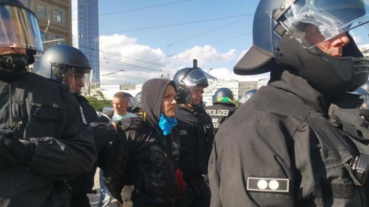 Berlinska policija objavila je kako je privedeno 86 osoba