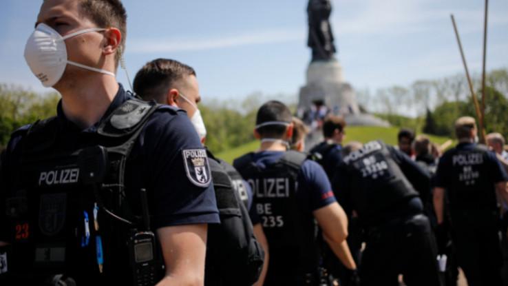 Proširene demonstracije u Njemačkoj