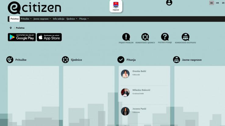 Mobilna aplikacija je prilagođena za android i IOS