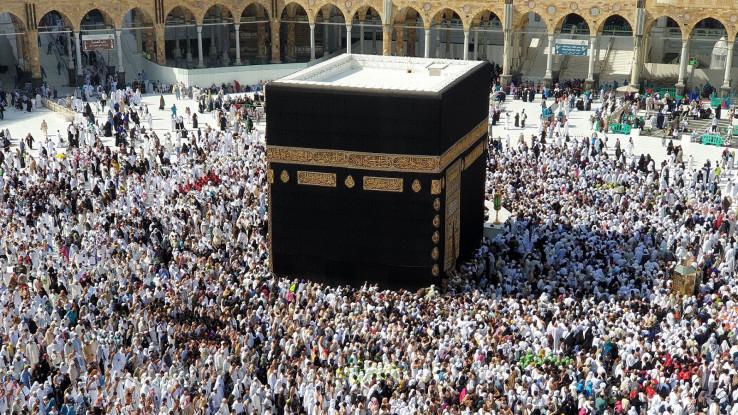 Poslanik Muhammed a.s. je nakon ulaska u harem Ka'be uništio sve kipove koje je zatekao