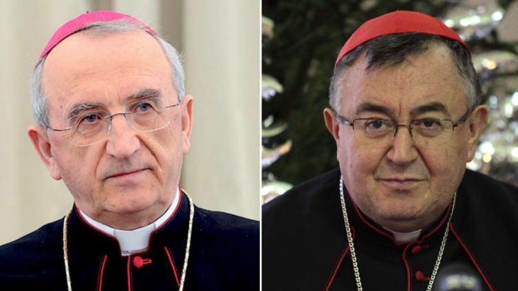Nadbiskup Puljić u kardinala Vinka Puljića