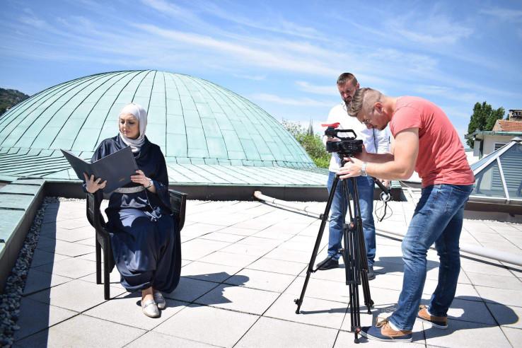 Sa snimanja u Sarajevu: Čitanja će se objavljivati sve do 11. jula