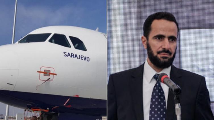 """Privatna aviokompanija """"FlyBosnia"""" predstavlja se kao nacionalna"""