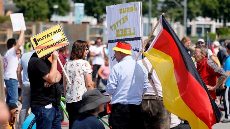 S današnjih protesta