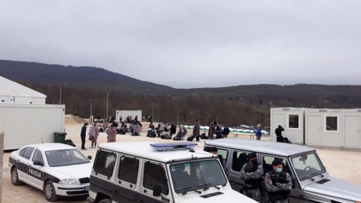 Pripadnici MUP-a USK nastavljaju strogu kontrolu kretanja svih ilegalnih migranata