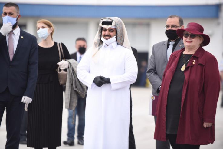 Ministrica Turković bez maske i rukavica