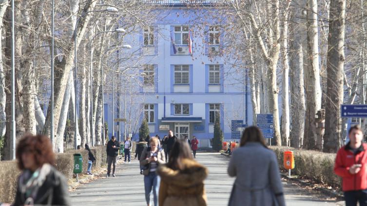 Incident se dogodio u krugu univerzitetskog kampusa