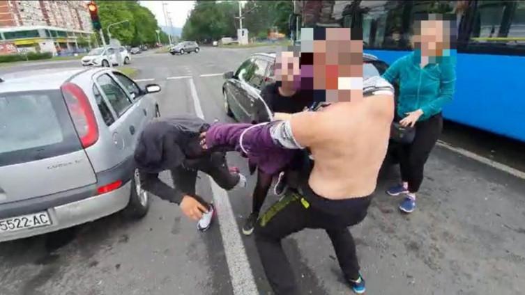 Sukob u Novom Zagrebu