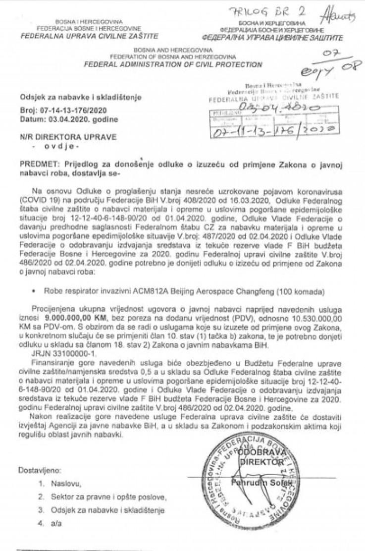 Nezakonita odluka o izuzeću, koju je Solak sam donio i poslao sam sebi - Avaz, Dnevni avaz, avaz.ba