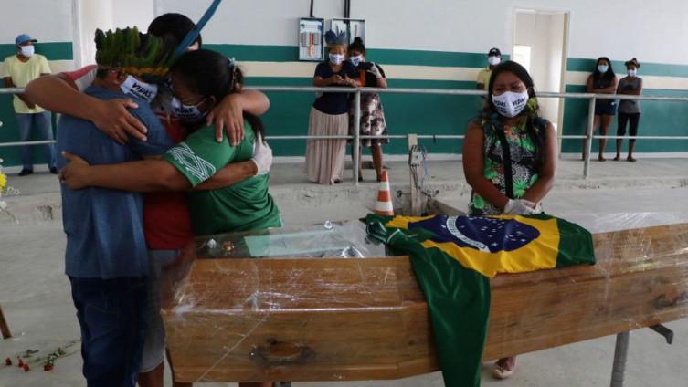Najteže pogođena zemlja u Južnoj Americi je Brazil