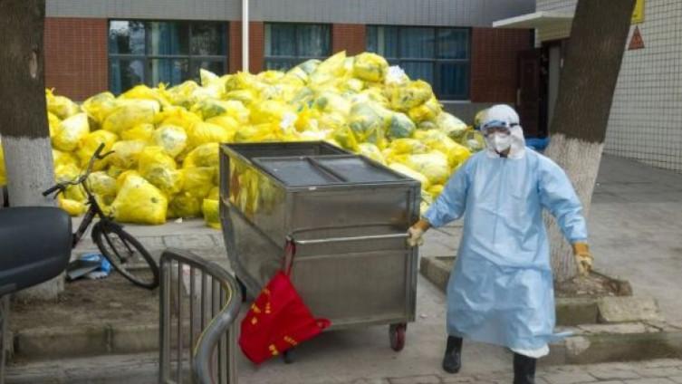 Količina medicinskog otpada je u razvijenim zemljama utrostručena od početka širenja bolesti