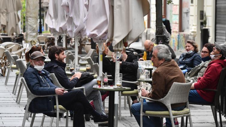 Za sada dozvoljen samo rad bašti restorana i kafića