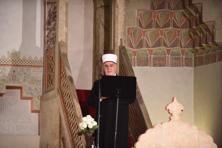 Bajramsku hutbu kazivao reisu-l-ulema Husein ef. Kavazović