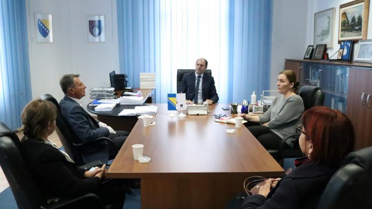 Delegacija Udruženja se zahvalila premijeru i Vladi KS u njihovoj dobroj namjeri, obećanoj podršci