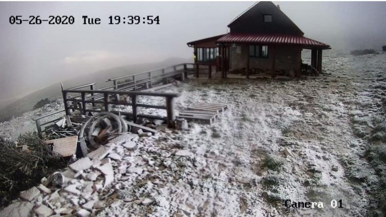Snijeg na Dinari