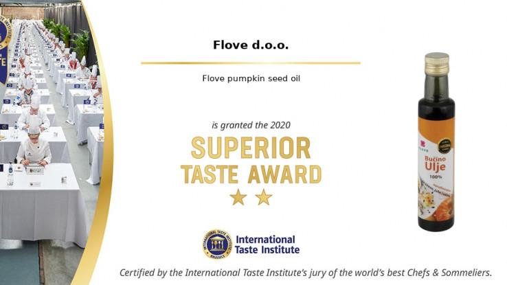 Flove bučino ulje iz BiH osvojilo prestižnu svjetsku nagradu za okus
