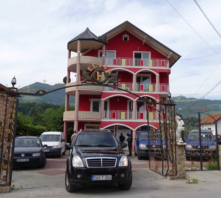 Kuća uhapšenog Salčinovića
