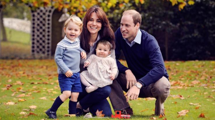 Princ Vilijam s porodicom