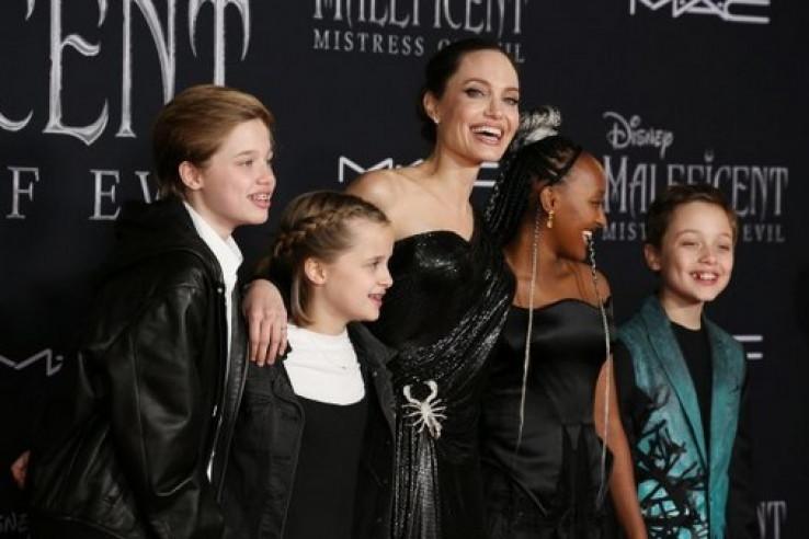 Anđelina Đoli s djecom