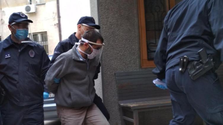 Jovanović prilikom ulaska u sud