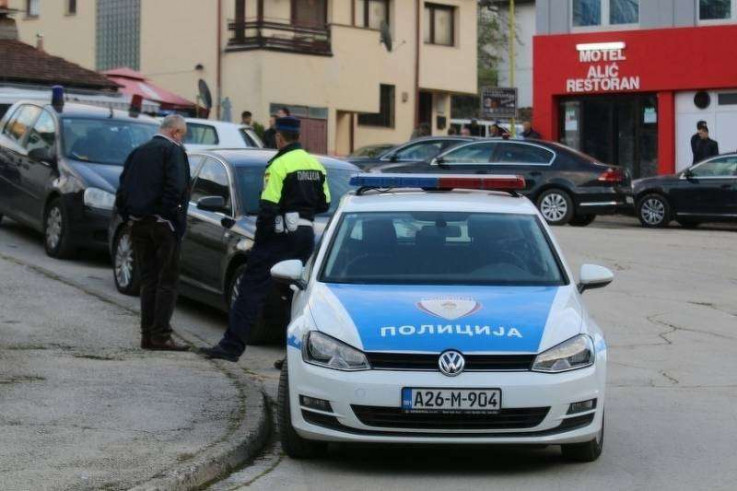 Policajci priveli osumnjičenog