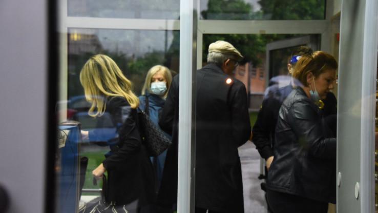 Advokati prilikom dolaska u Sud BiH