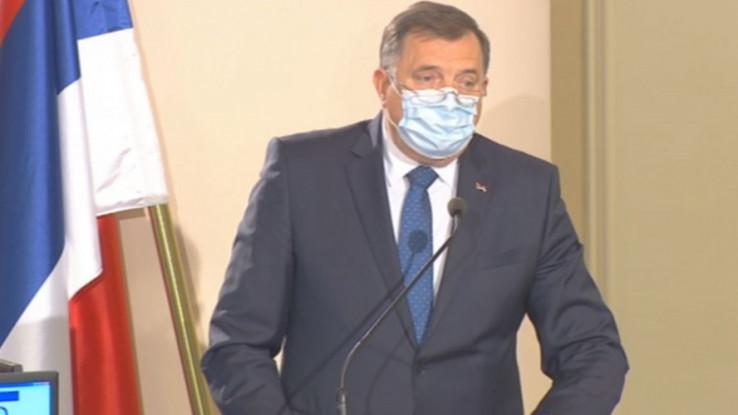 """Dodik: Rezolucija je """"podvala političkog Sarajeva"""""""