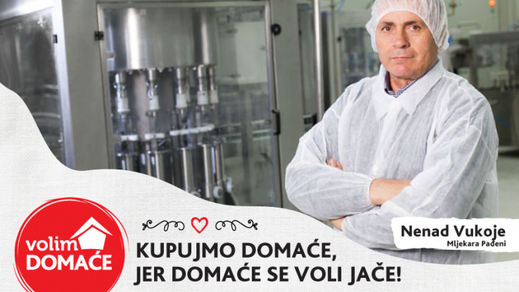 Nenad Vukoje, direktor Mljekare Pađeni
