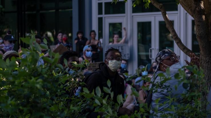 Sa protesta u Ohaju