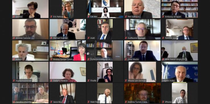 Online zasijedanje UO PIC-a