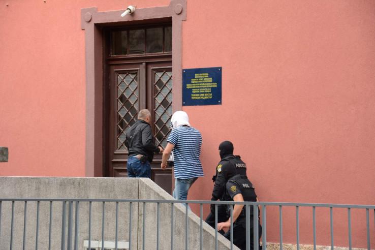 Privođenje u Mostaru