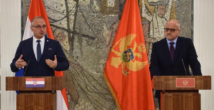 Gordan Grlić Radman i Srđan Darmanović nakon sastanka