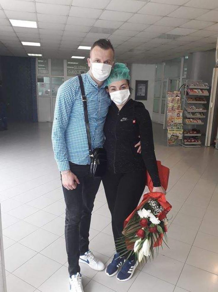 Eminin izlazak iz bolnice nakon 31 dana