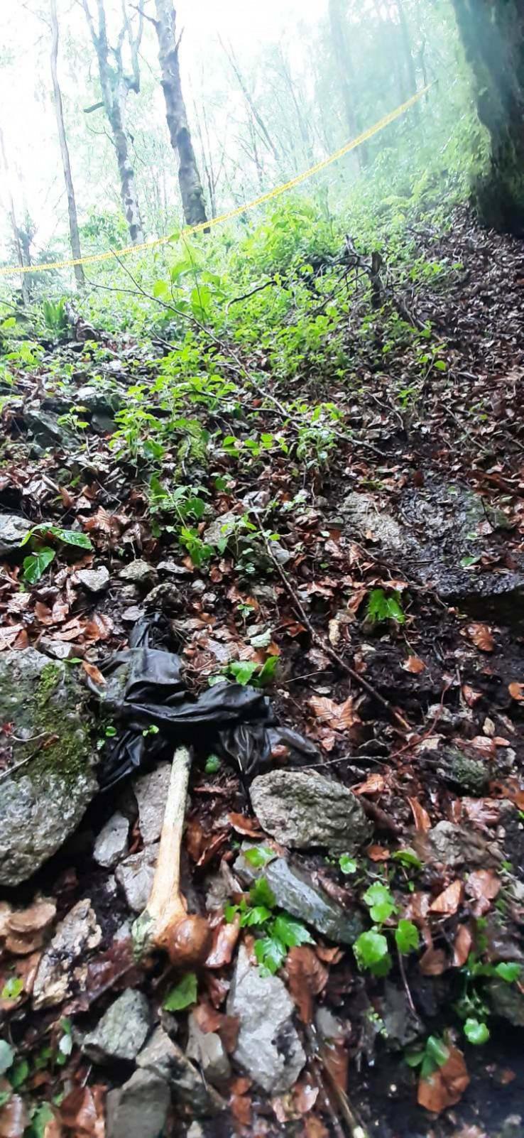 Na Vlašiću pronađena lokacija s posmrtnim ostacima više osoba