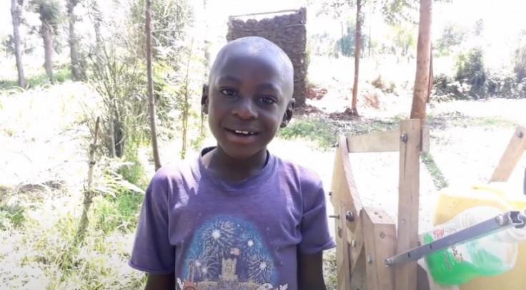 Devetogodišnji kenijski dječak Stiven Vamukota