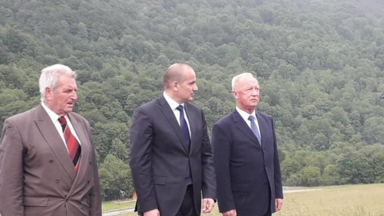 Hrvatska delegacija i predstavnici SABNOR-a BiH