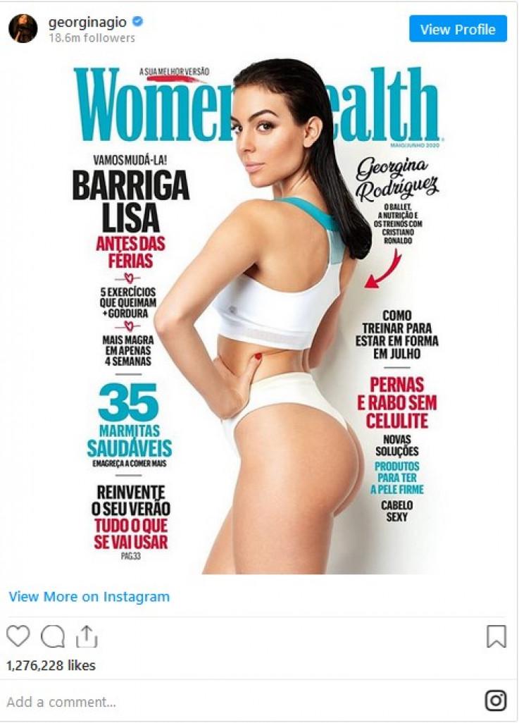 """Ljepotica je za časopis """"Women's Health"""" otkrila kako joj je Ronaldo pomogao da zavoli vježbanje"""
