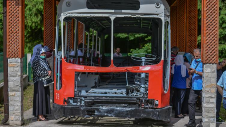 Autobu u kojem su ubijeni Bošnjaci