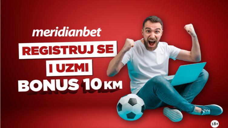 Meridian poklanja 10 KM bonusa za sretan početak