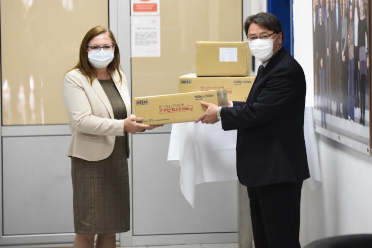 """Vlada Japana je Bosni i Hercegovini danas je donirala lijek """"Avigan"""""""
