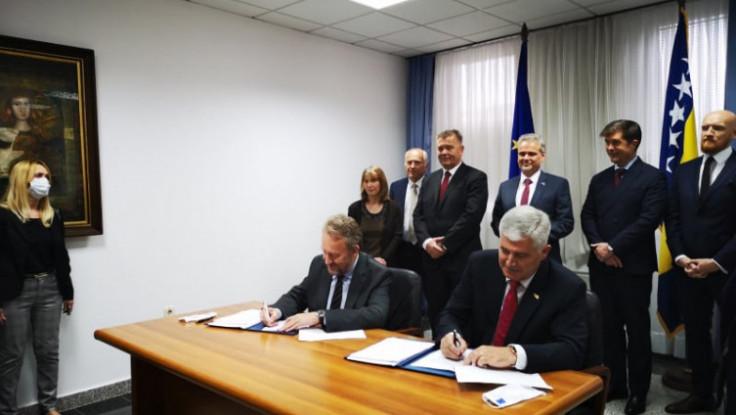 Potpisivanje sporazuma u Mostaru