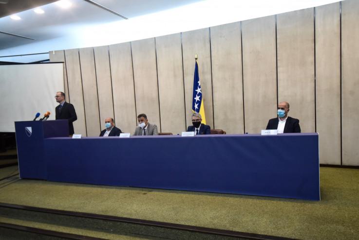 U zgradi Vlade FBiH održan sastanak s predstavnicima boračkih populacija