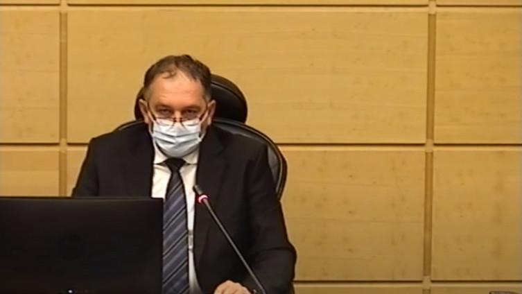 Predsjedavajući Doma naroda Parlamenta FBiH Tomislav Martinović