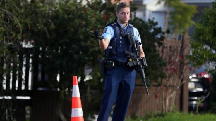 Policajci na Novom Zelandu obično ne nose oružje