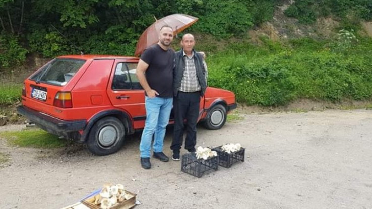 Fikret Dedić prodaje gljive