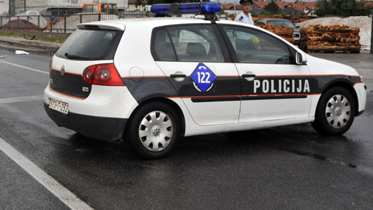 Napadnut policajac