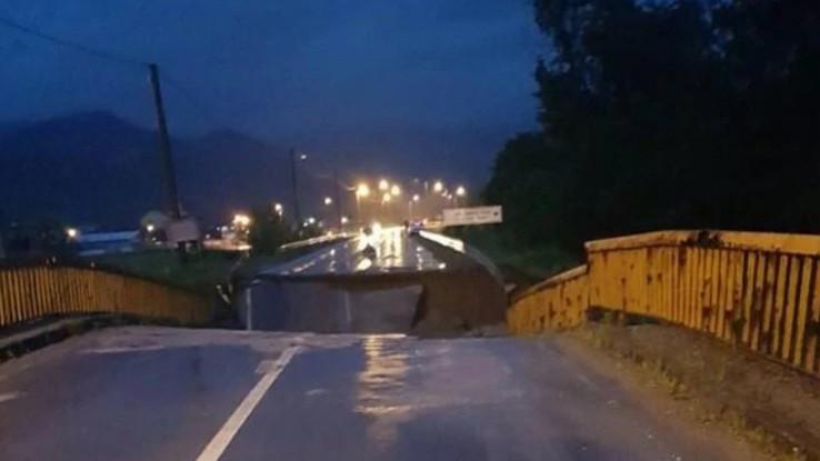 Voda odnijela most