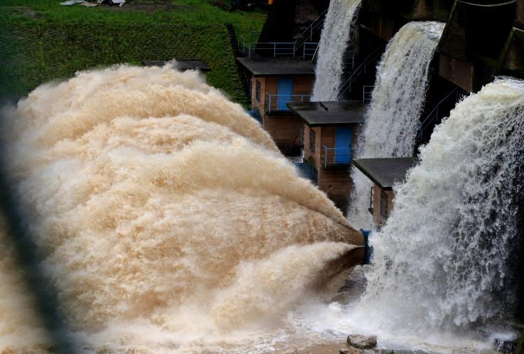 Vodostaj na brani Hidroelektrani Modrac jutros u 7 sati bio je 199,77 m.n.m. - Avaz, Dnevni avaz, avaz.ba