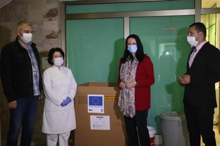 Respirator stigao u bolnicu