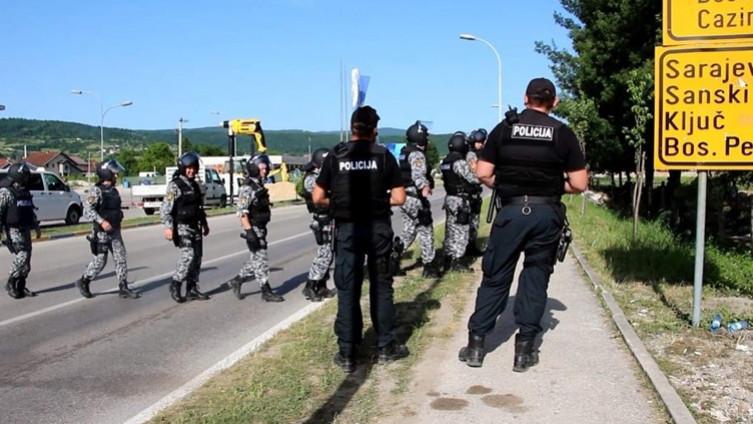 Jake policijske snage na terenu